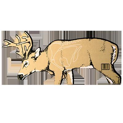 Cardboard Deer (6 Pack)