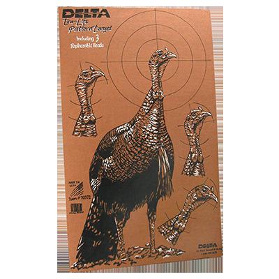 Cardboard Turkey Target (6 Pack)
