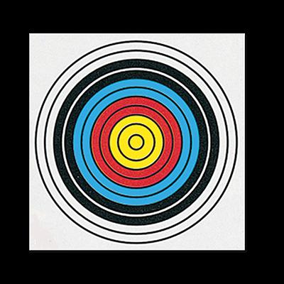 Single Spot FITA Paper Target