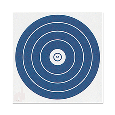 Single Spot NFAA Face Paper Target