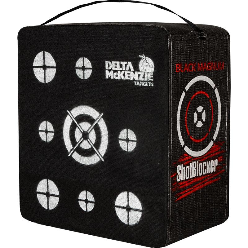 Delta McKenzie Targets - Shotblocker Black Magnum