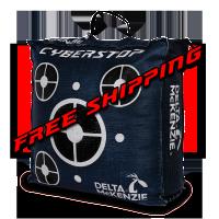 Delta McKenzie Targets - Cyberstop