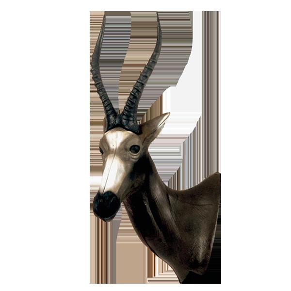 African Blesbok Head