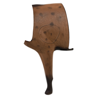 African Hyena 3D Archery Target Midsection