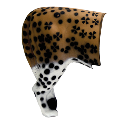 Leopard 3D Archery Target Rear Replacement