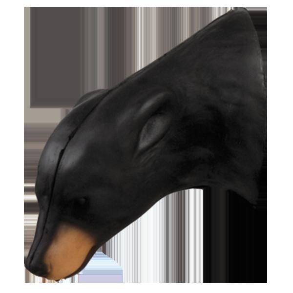 Medium Black Bear Head