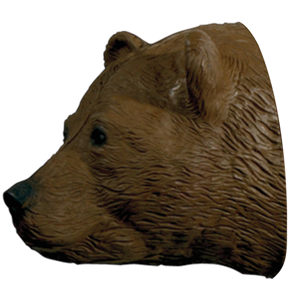 Walking Brown Bear Replacement Head