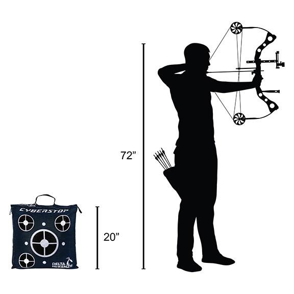 Delta McKenzie - Cyberstop Bag Archery Target