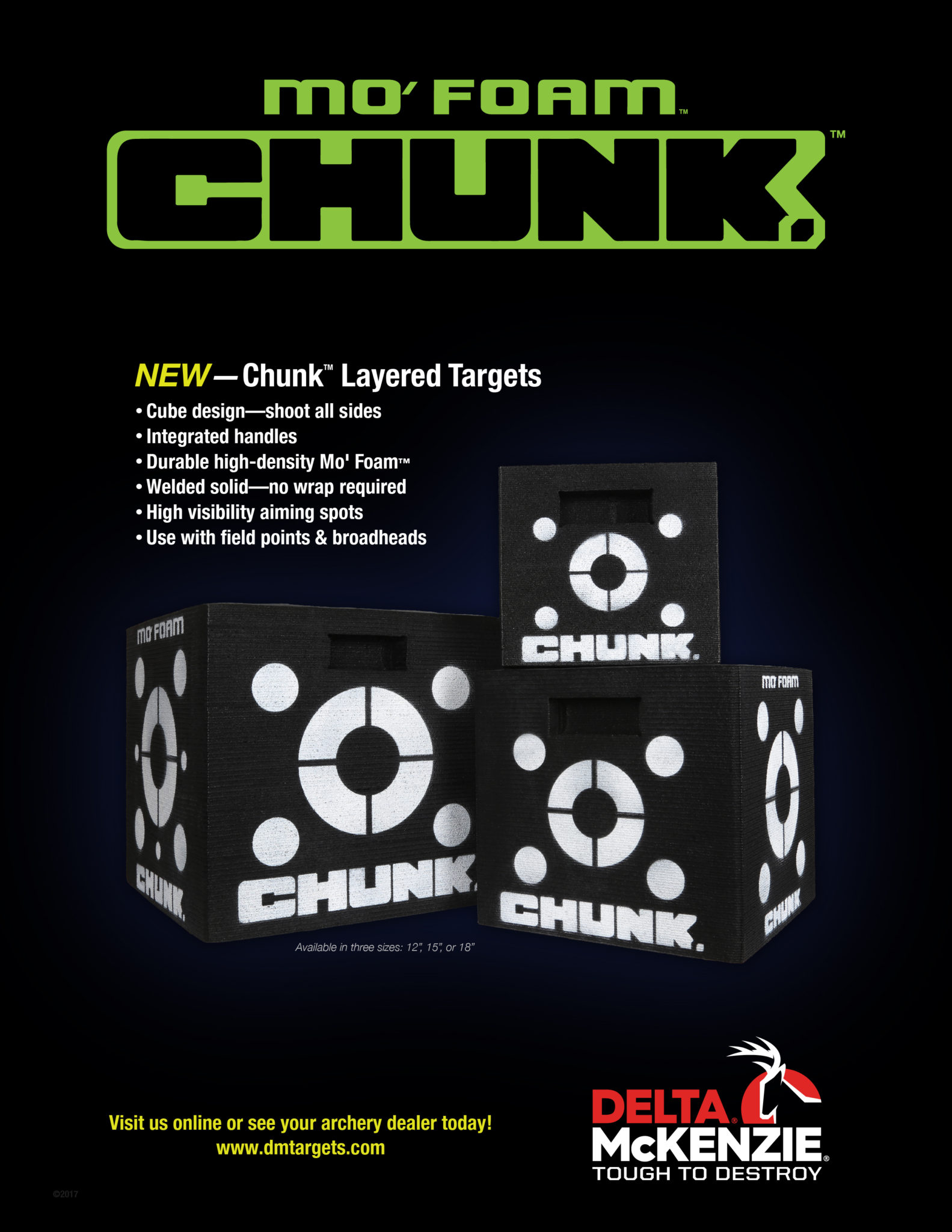 Innovative Chunk Layered Archery Targets Introduced