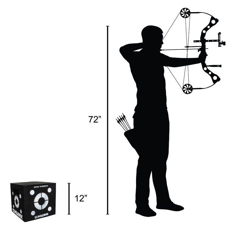 Delta McKenzie - Chunk Layered Archery Target
