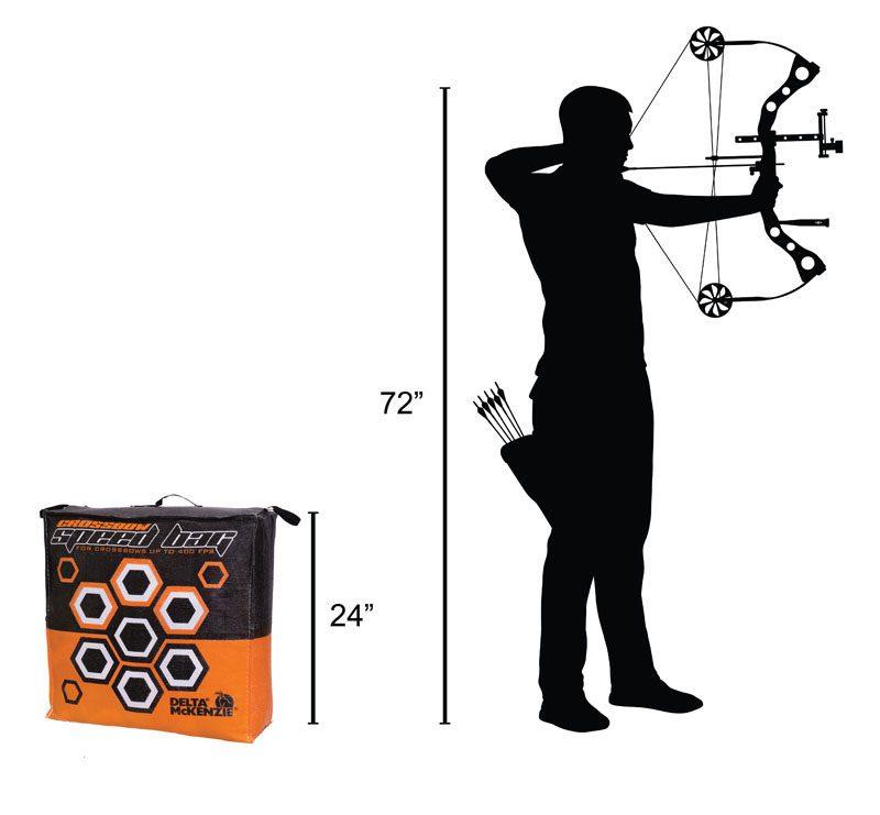 Delta McKenzie - Crossbow Speed Bag Archery Bag Target