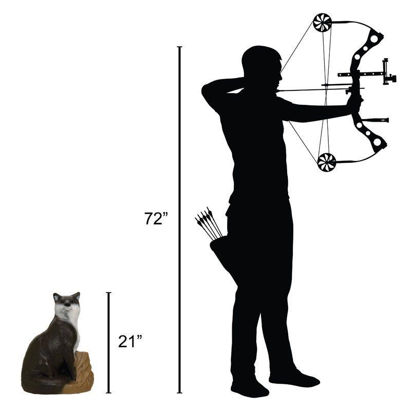 Delta McKenzie - Fox 3D Archery Target