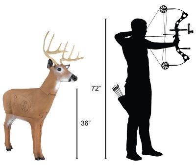 Hoosier Daddy Buck Archery Target