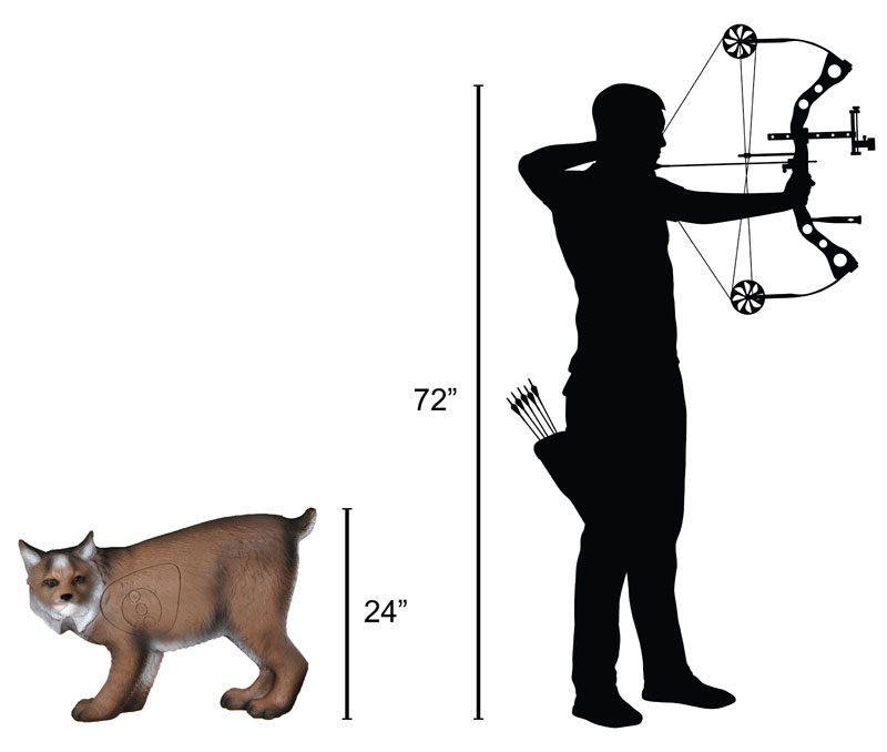 Delta McKenzie - Lynx 3D Archery Target