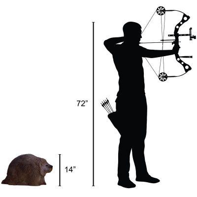 Porcupine 3D Archery Target