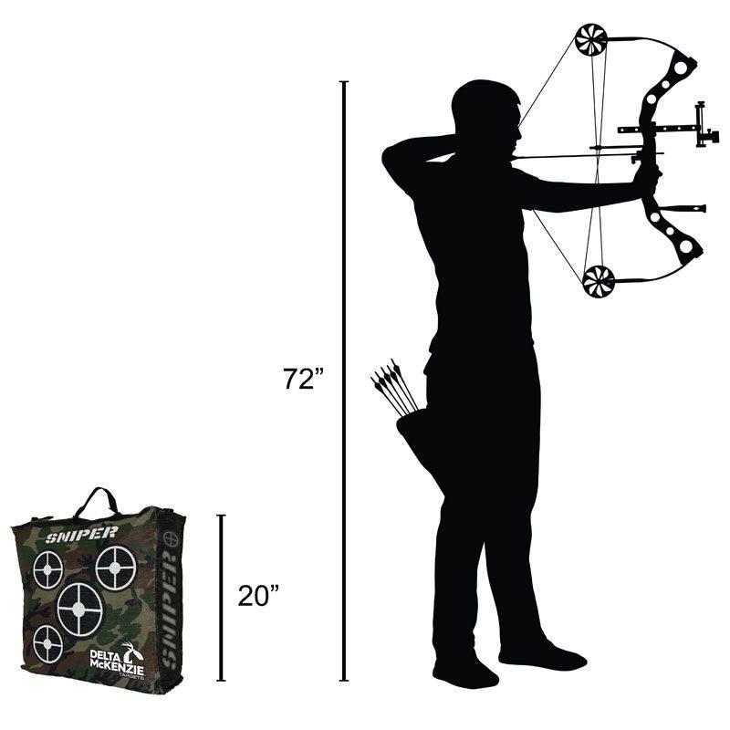 Delta McKenzie - Sniper Bag Archery Target