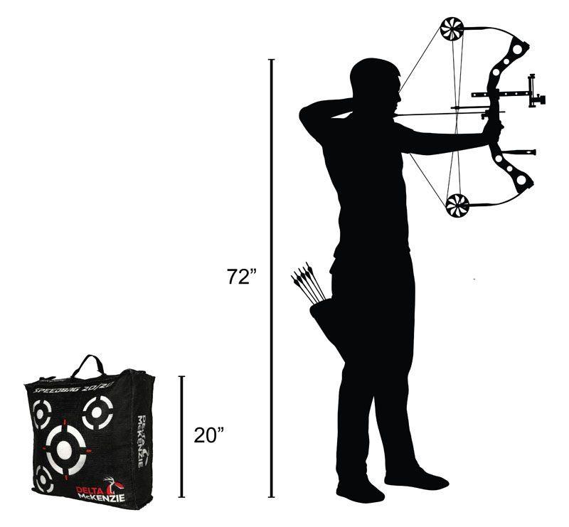 Delta McKenzie - Speedbag 20/20 Bag Archery Target