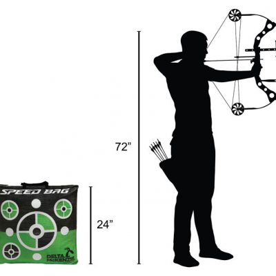 Speed Bag 24″ Archery Target