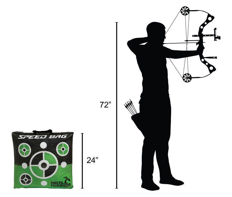 Delta McKenzie - Speedbag Bag Archery Target