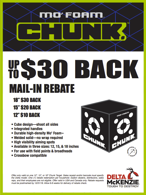 Chunk Rebate
