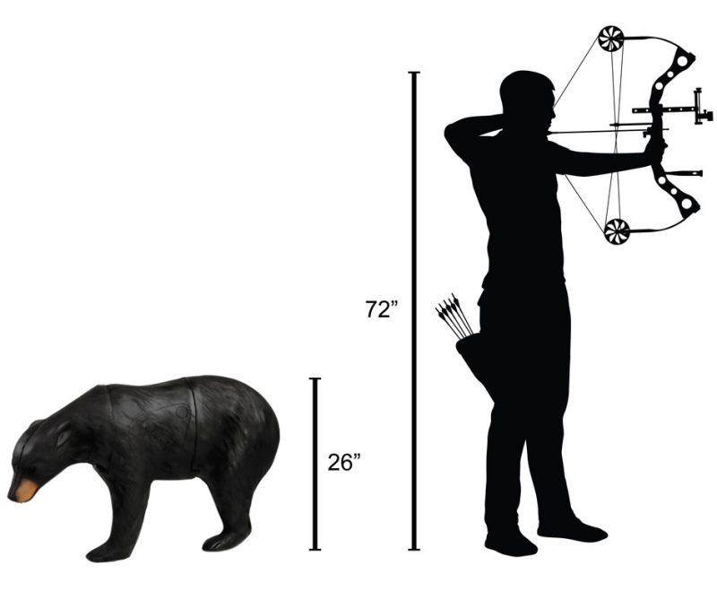 Delta McKenzie - Black Bear 3D Archery Target