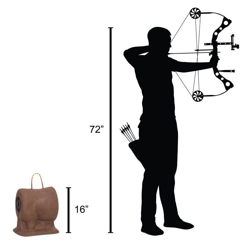 Delta McKenzie Targets - Pro Killzone 3D Archery Target