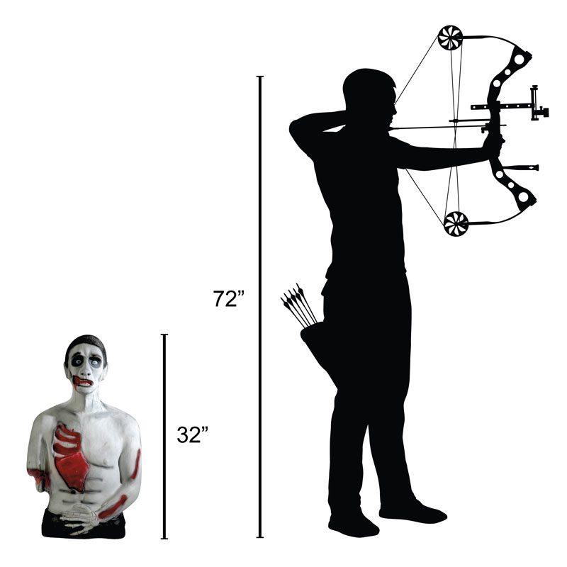 Delta McKenzie - Undead Fred 3D Archery Target