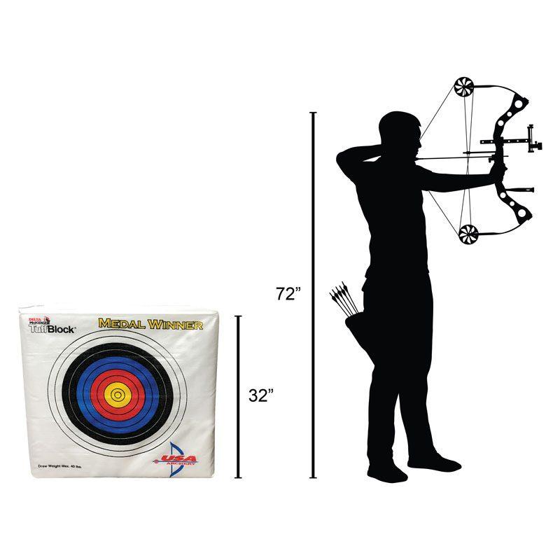 Delta McKenzie - Medal Winner Archery Target