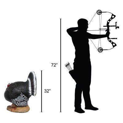 Strutting Turkey 3D Archery Target