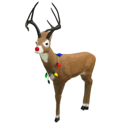 Randolph the Red Nose Whitetail Archery Target