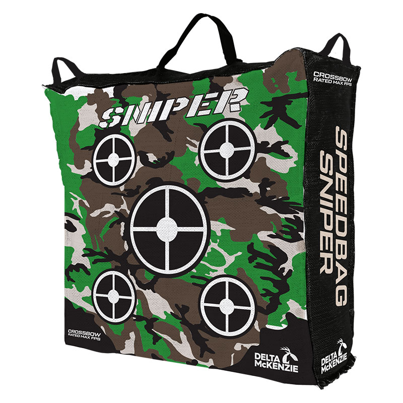 "Product photo of the speedbag 20""sniper Bag target front"